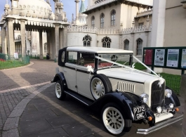 Vintage wedding car hire in Burgess Hill